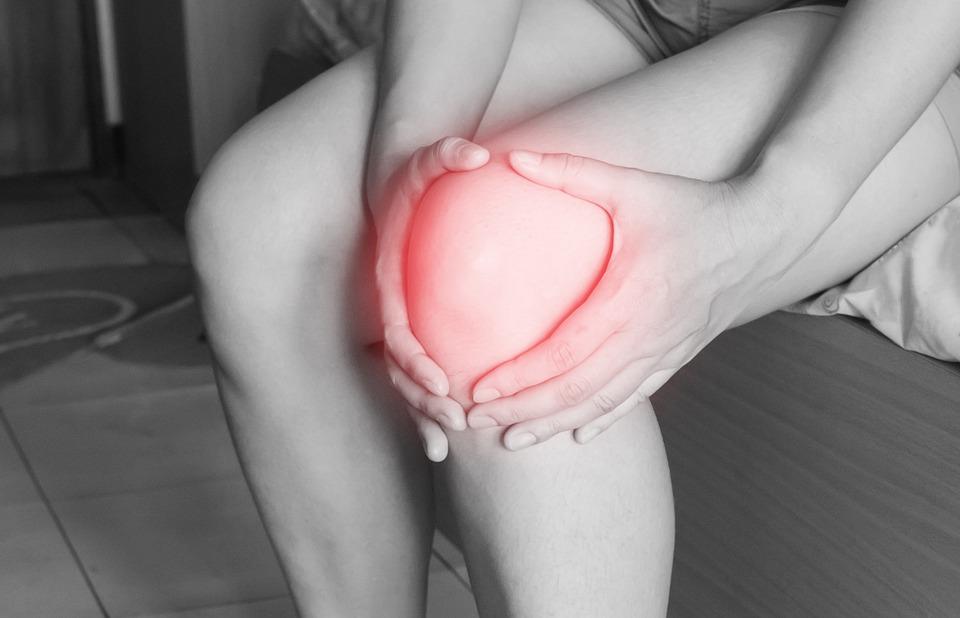 Blessure au tennis : tendinite rotulienne du genou